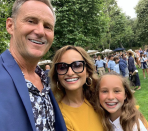 """Food Network star Giada De Laurentiis and ex-husband Todd Thompson reunited to celebrate their daughter's graduation. The family got lunch at celebrity hotspot Nobu after De Laurentiis posted this celebratory <a href=""""https://www.instagram.com/p/ByoCeDsnOeq/"""" rel=""""nofollow noopener"""" target=""""_blank"""" data-ylk=""""slk:photo"""" class=""""link rapid-noclick-resp"""">photo</a> on Instagram. """"Happy graduation Jadey!!"""" De Laurentiis captioned the sweet family shot, adding hashtags <span>#mommymoments</span> and <span>#soproud to highlight the special occasion.</span>"""