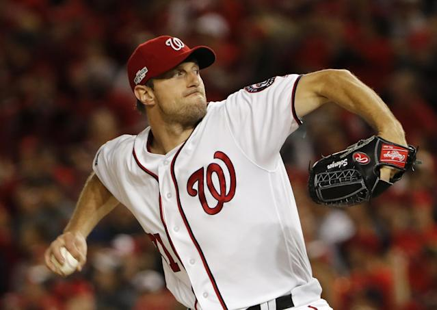 Can Max Scherzer win another Cy Young? He has a good chance. (AP)