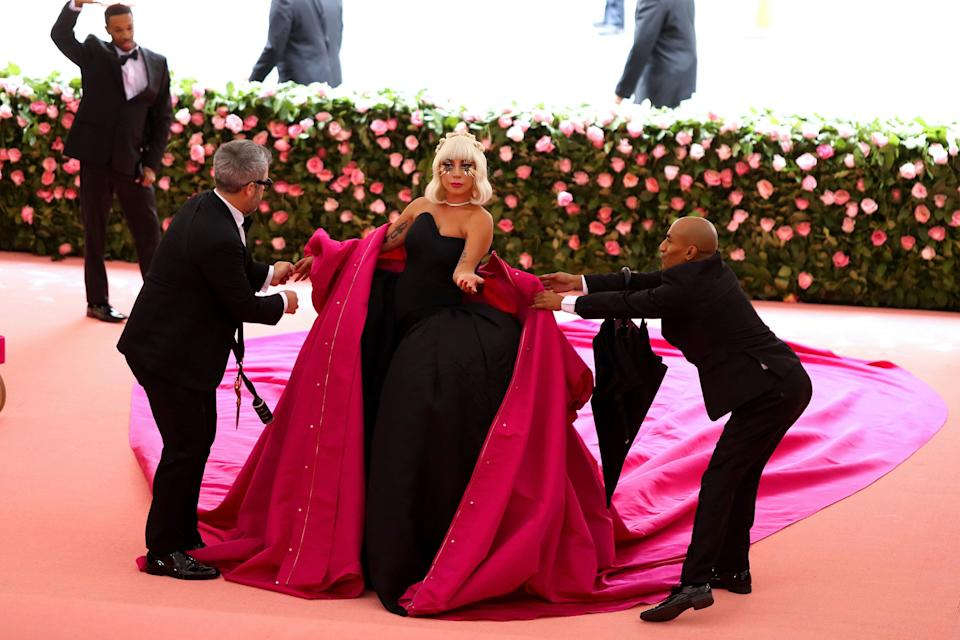 NEW YORK, NEW YORK - MAY 06: Lady Gaga attends The 2019 Met Gala Celebrating Camp: Notes on Fashion at Metropolitan Museum of Art on May 06, 2019 in New York City. (Photo by Kevin Tachman/MG19/Getty Images)