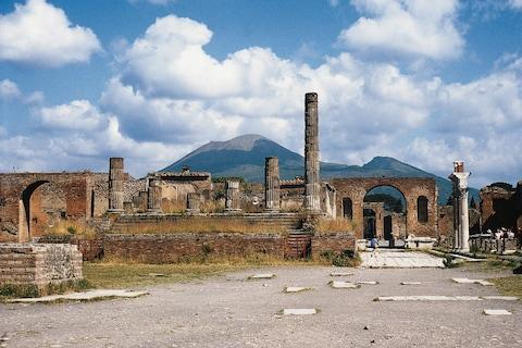 Temple of Jupiter - Credit: Getty