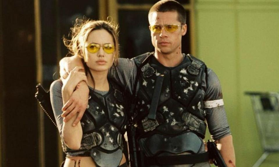 <p>Brad Pitt and Jennifer Aniston were once considered the golden couple but after he appeared in Mr & Mrs Smith with Angelina Jolie their marriage came to an abrupt end. There were problems before the movie but according to both Brad and Angelina they fell in love during the shoot which obviously didn't leave much room for Jen. </p>