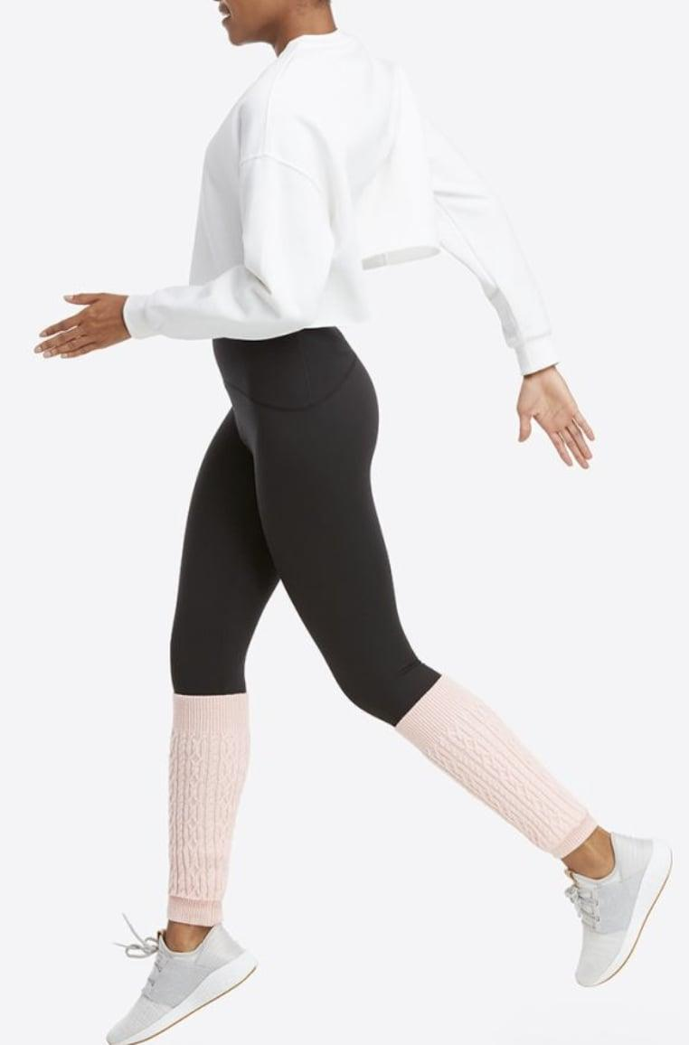 <p>With the cold winter months approaching, consider adding leg warmers to your workout uniform for added comfort. These <span>Spanx Legwarmers</span> ($38) in a blush-pink color would definitely make Jane Fonda proud.</p>