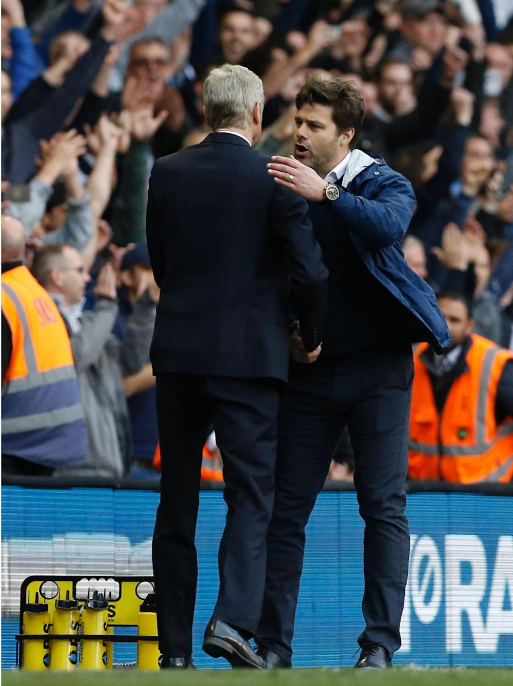 Pochettino says he has a lot of respect for his Arsenal counterpart (Getty)