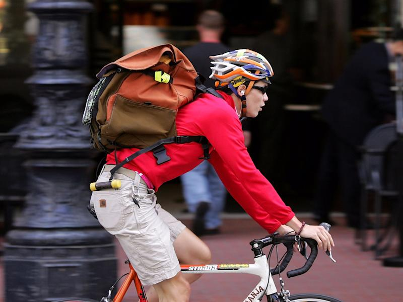 bike courier messenger