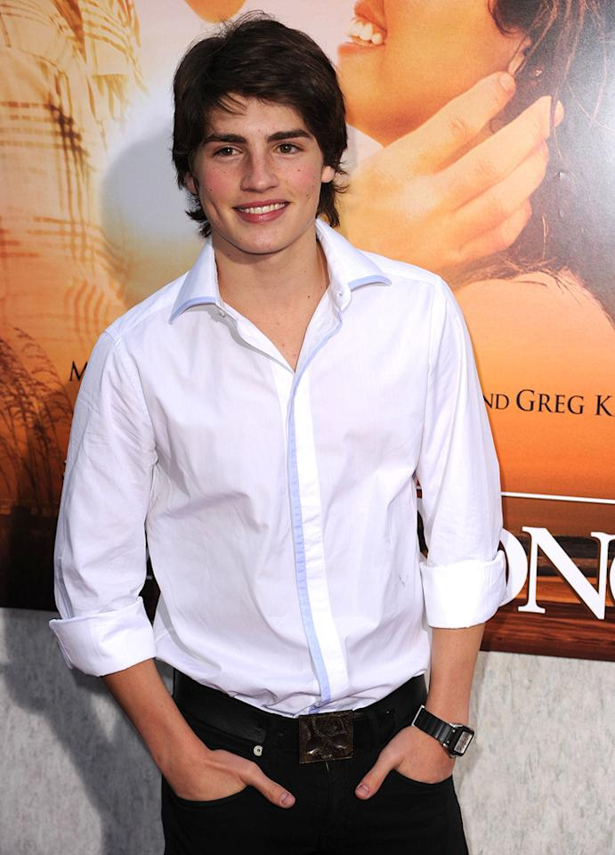 """<a href=""""http://movies.yahoo.com/movie/contributor/1809683111"""">Gregg Sulkin</a> at the Los Angeles premiere of <a href=""""http://movies.yahoo.com/movie/1810098775/info"""">The Last Song</a> - 03/25/2010"""