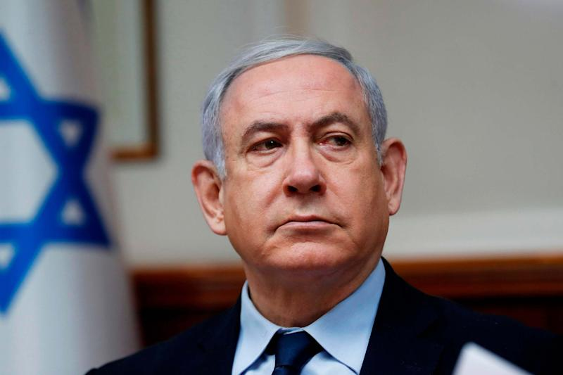 Benjamin Netanyahu (POOL/AFP via Getty Images)