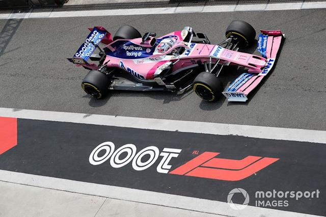 "Sergio Perez, Racing Point RP19 <span class=""copyright"">Steven Tee / LAT Images</span>"