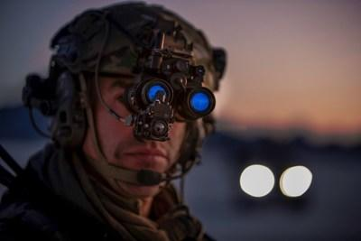 Elbit Systems of Americas Squad Binocular Night Vision Goggle for the U.S. Marine Corps.