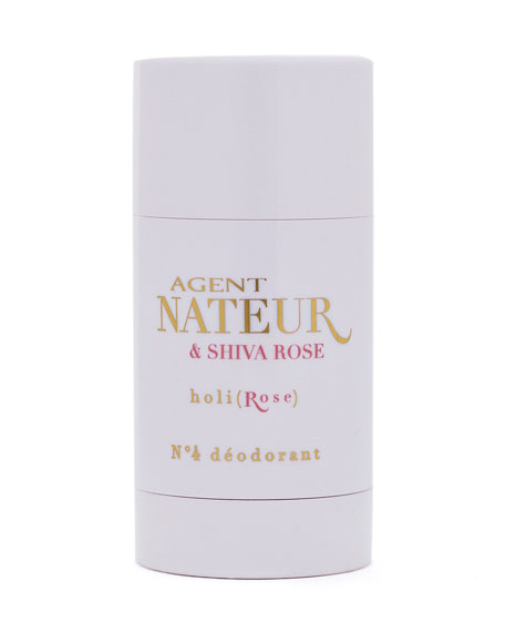 """<p><strong>Agent Nateur</strong></p><p>dermstore.com</p><p><strong>$26.00</strong></p><p><a href=""""https://go.redirectingat.com?id=74968X1596630&url=https%3A%2F%2Fwww.dermstore.com%2Fproduct_HoliRose%2BNo%2B4%2BDeodorant_74168.htm&sref=https%3A%2F%2Fwww.harpersbazaar.com%2Fbeauty%2Fskin-care%2Fg32415900%2Fbest-deodorant-for-women%2F"""" rel=""""nofollow noopener"""" target=""""_blank"""" data-ylk=""""slk:Shop Now"""" class=""""link rapid-noclick-resp"""">Shop Now</a></p><p>Give Agent Nateur's fan-favorite stick a try if sodium bicarbonate (i.e. baking soda) works with your skin. It includes vitamin-packed avocado butter and a sweet fragrance courtesy of essential oils. </p>"""