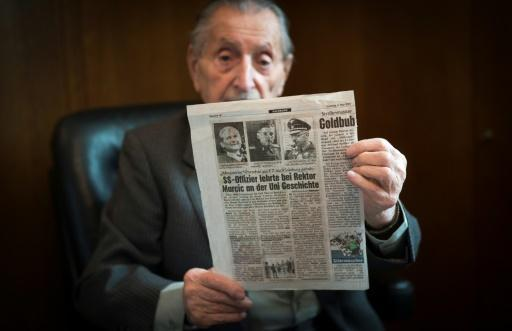 <p>Holocaust survivor Marko Feingold, 104, recalls the Anschluss</p>
