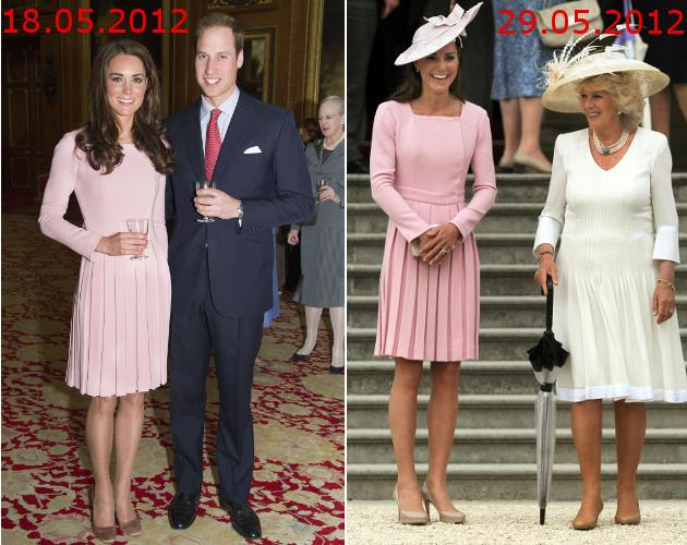 Kate Middleton: Royales Recycling in Rosa