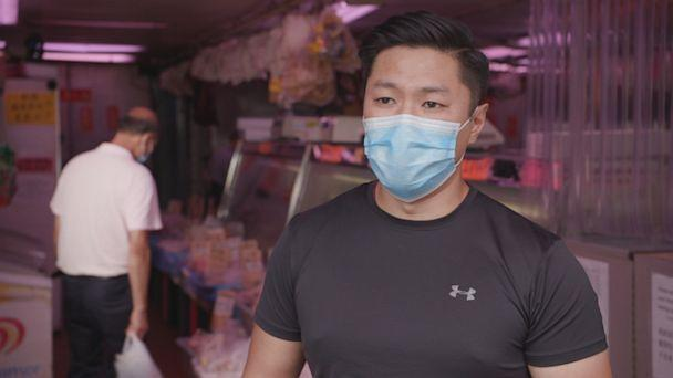 PHOTO: Jefferson Li is the American Dream fulfilled. The Coast Guard reservist is the son of Chinese immigrants who worked hard for 25 years building their butcher shop in New York City's Chinatown. (ABC)