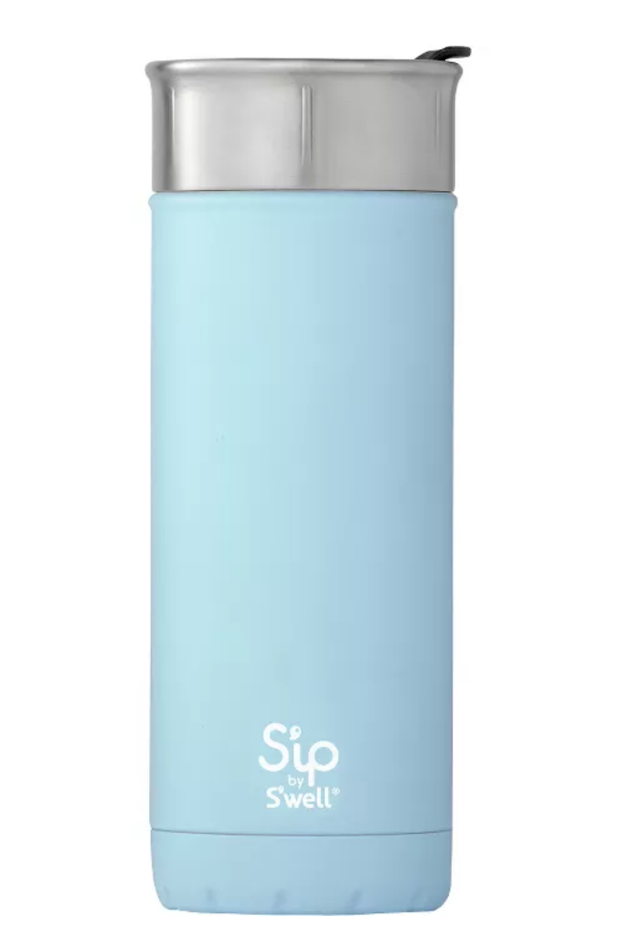 """<p><a class=""""link rapid-noclick-resp"""" href=""""https://www.target.com/p/s-ip-by-s-well-vacuum-insulated-stainless-steel-travel-mug-16oz/-/A-54143809?preselect=53578049#lnk=sametab"""" rel=""""nofollow noopener"""" target=""""_blank"""" data-ylk=""""slk:BUY NOW"""">BUY NOW</a> <strong><em>$25, target.com</em></strong></p><p>S'well's S'ip collection was originally only sold at Target, and it's still everyone's favorite place to pick one up.</p>"""