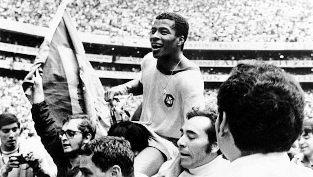 "<p>The 1970 finals, played out in Mexico, brought us the first real group of death, or ""grupo de la muerte"" as it was branded by journalists. </p> <br><p>England were the defending champions, having won it in the previous tournament, Brazil were two-time Champs, while the Czechs had joined Brazil in the 1962 final to bow out at the end.</p> <br><p>Brazil, though, emerged from a group containing the winners of the last three World Cups unscathed, ultimately winning their third cup with a prolific Pele firing the attack.</p>"