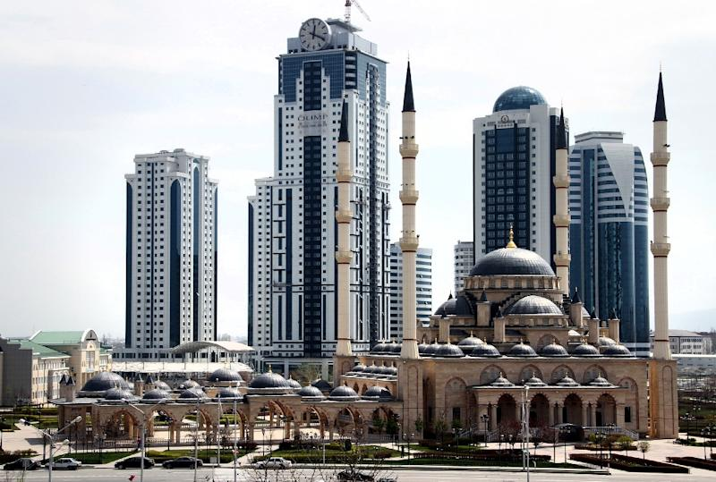 A view of the Chechen capital Grozny