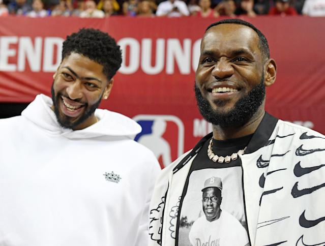 Anthony Davis and LeBron James are two of the most talented players in the NBA. (Getty Images)