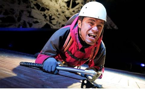 Touching the Void at the Duke of York's Theatre - Credit: Alastair Muir