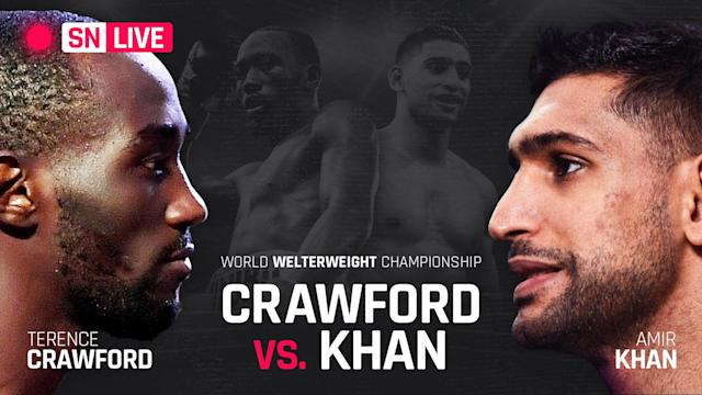 Terence Crawford easily dominated Amir Khan to victory, but the win didn't come the way he expected it to.