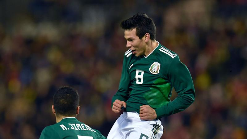 sale retailer abd94 648c7 Hirving Lozano solidifies Mexico star status with double vs ...