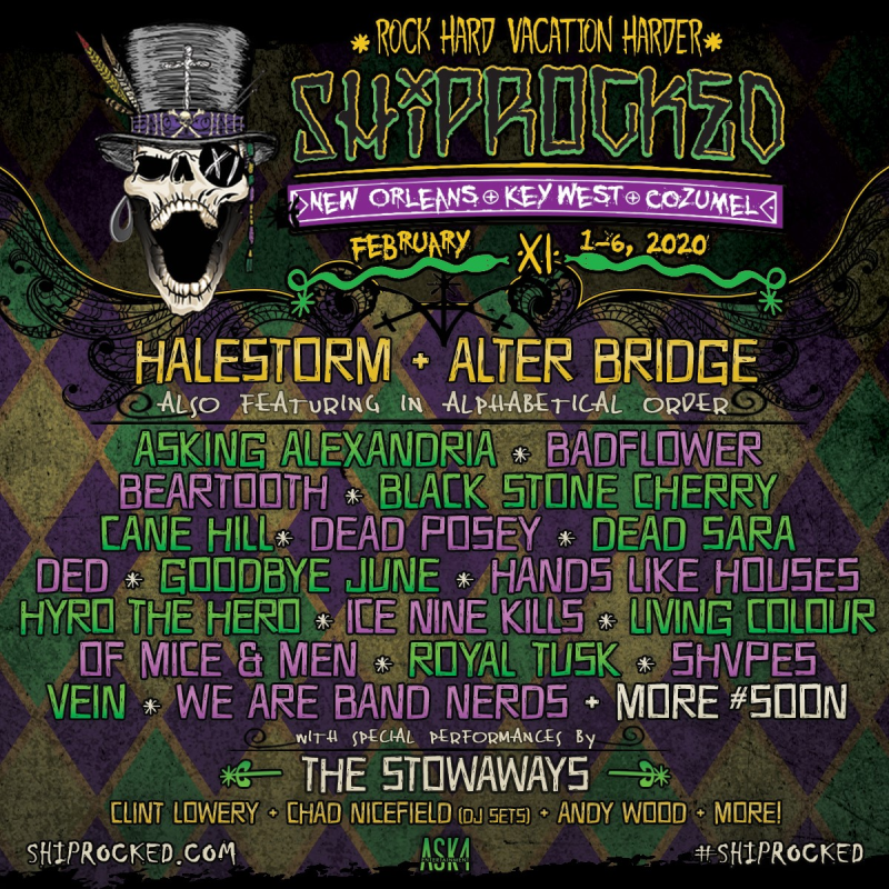 ShipRocked 2020 Poster