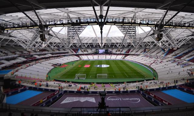 "<span class=""element-image__caption"">Is the vast London Stadium simply too big for a club of West Ham United's stature at the moment?</span> <span class=""element-image__credit"">Photograph: Simon West/Action Plus via Getty Images</span>"