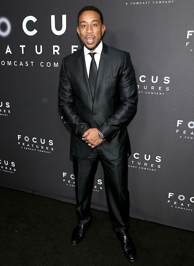 "<p>Rapper and actor Chris ""Ludacris"" Bridges attends the Focus Features Golden Globe Awards party. (Photo: Phillip Faraone/Getty Images) </p>"