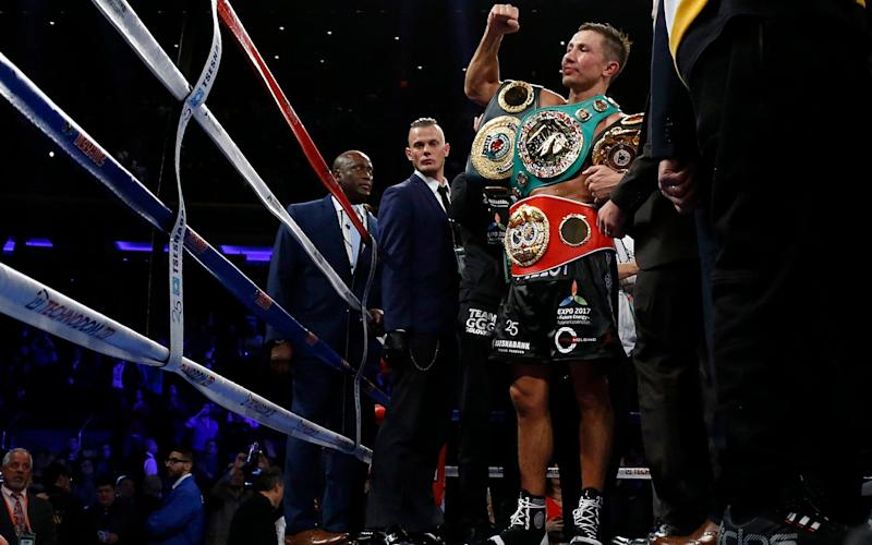 Gennady Golovkin had his toughest fight yet against Daniel Jacobs - USA Today Sports