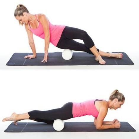 Use a foam roller to massage your muscles.
