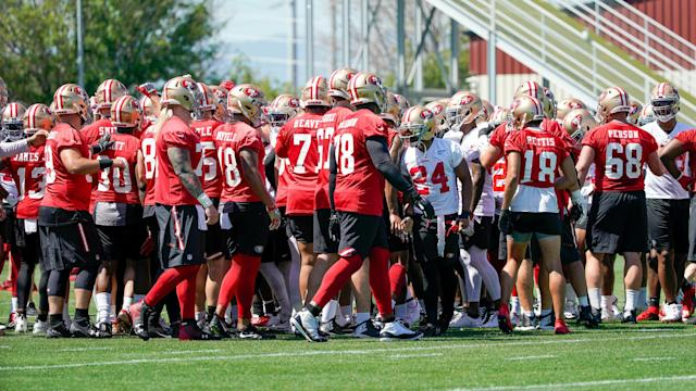 Here is the schedule of important dates for the 49ers in training camp and beyond.