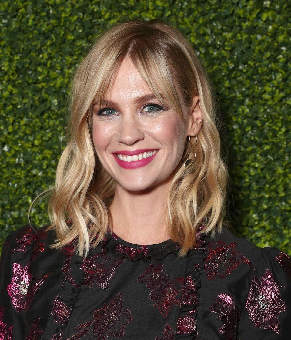 """<p>""""<a href=""""http://www.redonline.co.uk/red-women/interviews/january-jones-interview"""" rel=""""nofollow noopener"""" target=""""_blank"""" data-ylk=""""slk:My life"""" class=""""link rapid-noclick-resp"""">My life</a> is so full. It's not like, 'Aww, I wish I had a man.' After I had Xander, I went on a couple of dates and I was like, 'I'd rather be at home sleeping, or watching TV, or hanging out with my kid.'"""" </p>"""