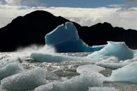Greenhouse gas emissions are locking in global heating that is melting ice sheets and glaciers and expanding oceans