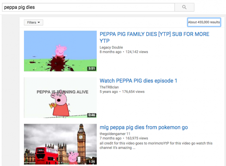 Fake Peppa Pig videos on YouTube 'trick children into watching disturbing content'