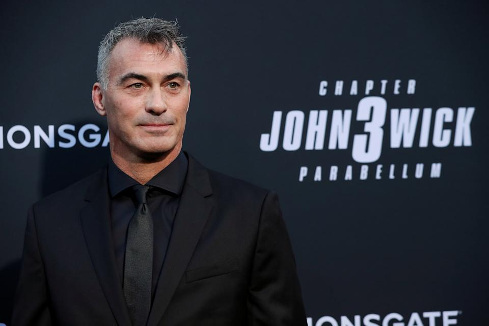 "Director Chad Stahelski arrives for a screening of the movie ""John Wick: Chapter 3 - Parabellum"" in Los Angeles, California, U.S. May 15, 2019. REUTERS/Mario Anzuoni"