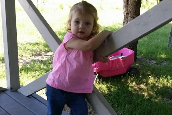 Three-year-old Cheyenne Hyer died when she was left in a hot car for four hours. (Photo: Go Fund Me/Ryan Hyer)