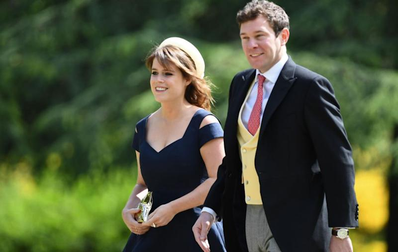 Princess Beatrice of York arrived in navy. Source: Getty