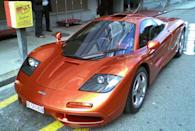 <p>Possibly the best sports car ever made. For more a decade, nothing came close to touching the performance of the F1 and its outrageous BMW V-12 engine stuffed behind the three seats.</p>