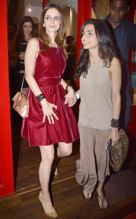 Look whom we spotted at Sussanne's store launch