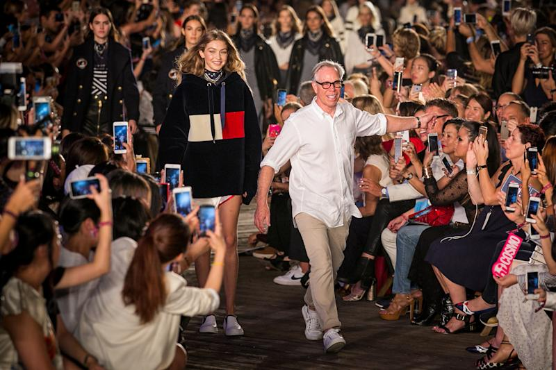 How Tommy Hilfiger reinvented itself to create 'see-now-buy-now' catwalk shopping