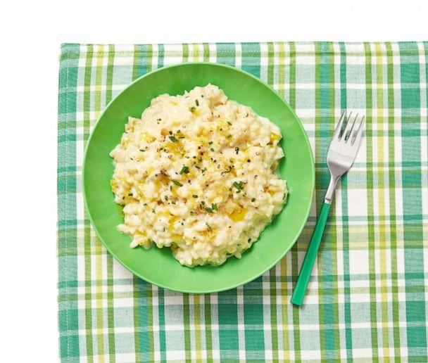 PHOTO: Risotto with Parmesan and Lemon recipe by Geoffrey Zakarian's 10-year-old daughter, Anna. (Ralph Smith / Food Network Magazine)