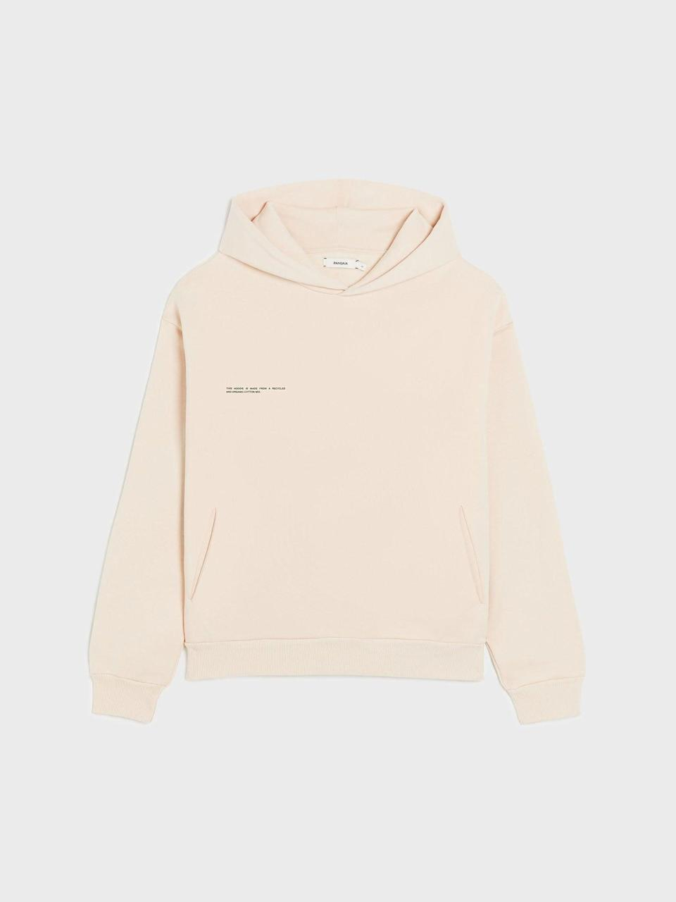 """<h2>Heavyweight Pangaia Recycled Cotton Hoodie</h2><br>""""Best quality sweatshirt! First off, it has beautiful pockets. Secondly, this sweatshirt has been keeping me so warm and cozy while I WFH. The brand is also constantly coming out with unique colors that I keep eyeing and debating if I should spend even more money on another sweatshirt."""" – <a href=""""https://www.instagram.com/bymichellecope/"""" rel=""""nofollow noopener"""" target=""""_blank"""" data-ylk=""""slk:Michelle Cope"""" class=""""link rapid-noclick-resp""""><em>Michelle Cope</em></a><em>, Design Assistant</em><br><br><em>Shop <strong><a href=""""https://thepangaia.com/collections/women-hoodies"""" rel=""""nofollow noopener"""" target=""""_blank"""" data-ylk=""""slk:Pangaia"""" class=""""link rapid-noclick-resp"""">Pangaia</a></strong></em> <br><br><strong>Pangaia</strong> Heavyweight Recycled Cotton Hoodie, $, available at <a href=""""https://go.skimresources.com/?id=30283X879131&url=https%3A%2F%2Fthepangaia.com%2Fcollections%2Fwomen-hoodies%2Fproducts%2Fheavyweight-recycled-cotton-hoodie-sand"""" rel=""""nofollow noopener"""" target=""""_blank"""" data-ylk=""""slk:Pangaia"""" class=""""link rapid-noclick-resp"""">Pangaia</a>"""