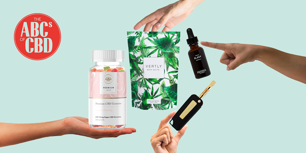 A Chic CBD Bath Bomb—and 11 More CBD Products That You