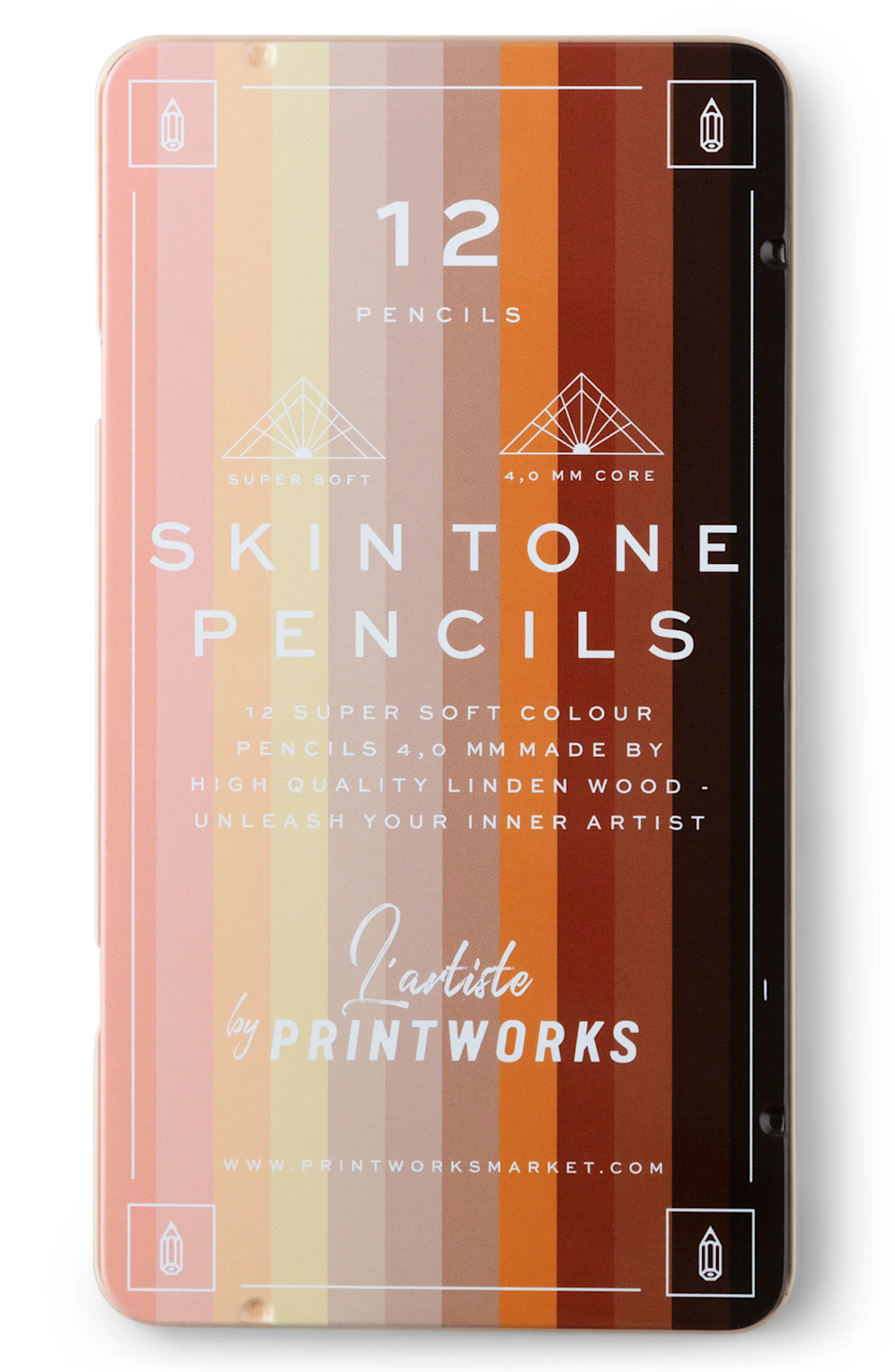 """For the art inclined sibling, this skin-tone colored pencil set will rank high on his list as the best present ever. <br><br><strong>Printworks</strong> 12-Piece Skin Tone Color Pencil Set, $, available at <a href=""""https://go.skimresources.com/?id=30283X879131&url=https%3A%2F%2Fwww.nordstrom.com%2Fs%2Fprintworks-12-piece-skin-tone-color-pencil-set%2F5742462%3Forigin%3Dcategory-personalizedsort%26breadcrumb%3DHome%252FHoliday%2520Gifts%252FGifts%2520for%2520Him%26color%3Dmulti"""" rel=""""nofollow noopener"""" target=""""_blank"""" data-ylk=""""slk:Nordstrom"""" class=""""link rapid-noclick-resp"""">Nordstrom</a>"""