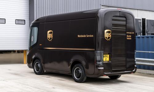 UK electric van maker Arrival secures £340m order from UPS