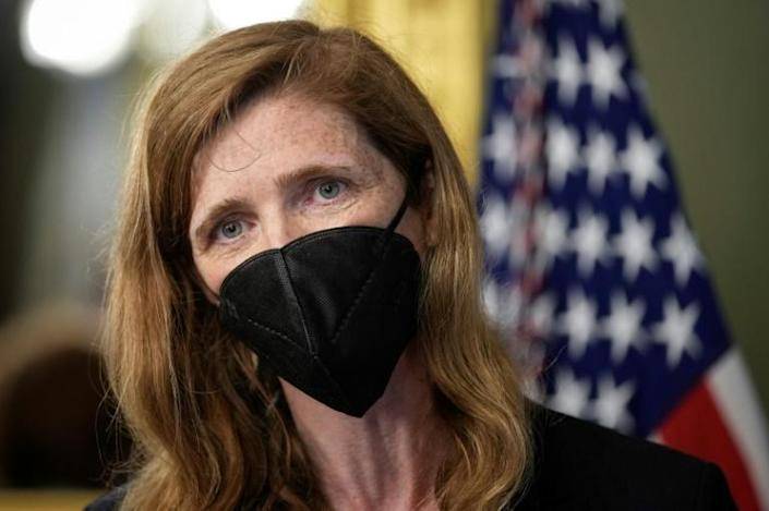USAID chief Samantha Power says there is no 'military solution' to the Tigray conflict