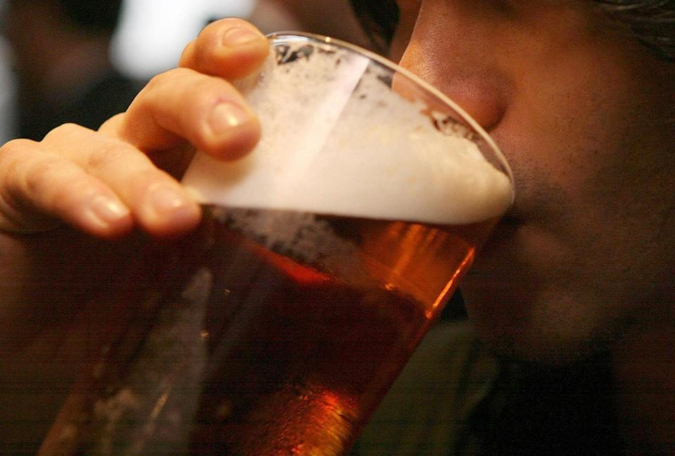 <p>Pubs are set to reopen outdoors from Monday</p> (PA)