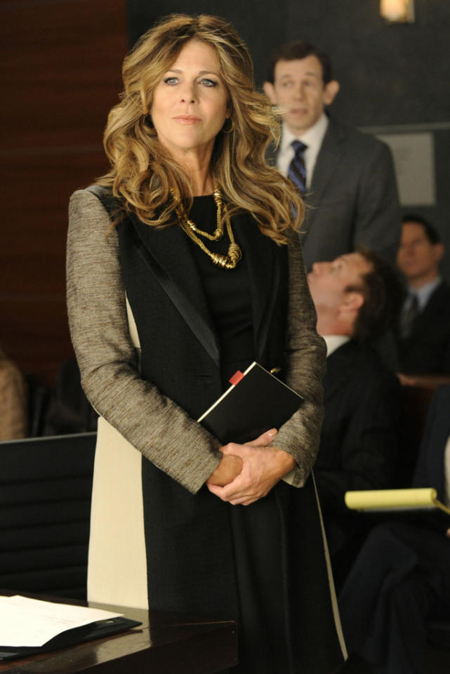 """Rita Wilson reprises her role on """"The Good Wife"""" as slick Los Angeles lawyer and frequent Lockhart & Gardner nemesis, Viola Walsh."""