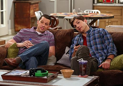 Two and a Half Men Renewal Scoop: Ashton Kutcher and Jon Cryer on Board for Season 11; Angus T. Jones' Return in Doubt