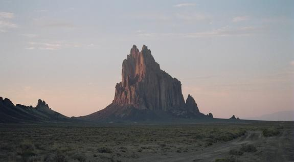 The desert Four Corners region contains beautiful landforms like Shiprock in New Mexico. It's also the site of an anomalous blob containing high levels of methane.
