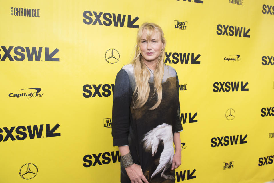 Fans thought the actress looked the spitting image of Daryl Hannah (pictured). (Getty Images)