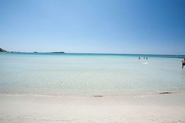 PHOTO: Beach at Hotel Blu, Porto Cesareo. (Oyster.com)